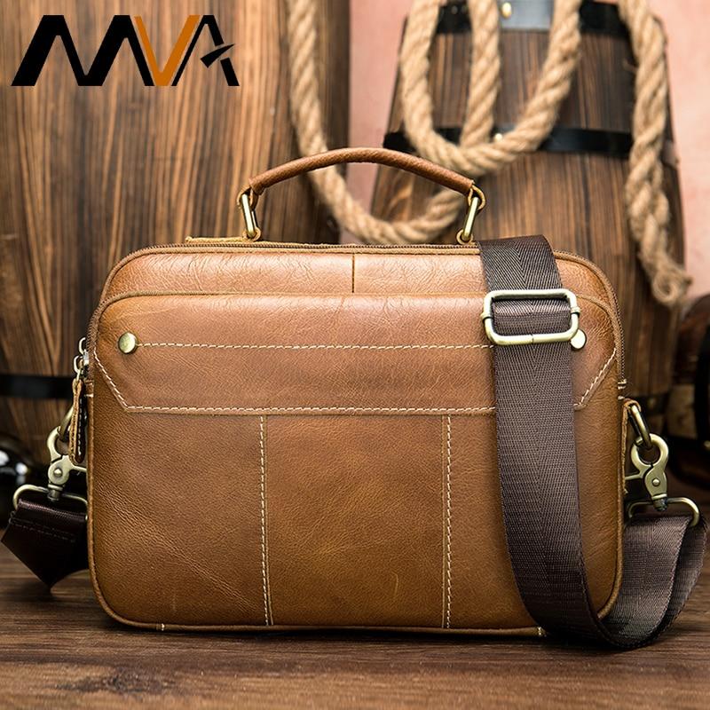 Bag's Genuine Leather Men Briefcases Handbag Man Briefcase Leather Bags Men Business Briefcase Laptop Bag кожанный портфель 8620