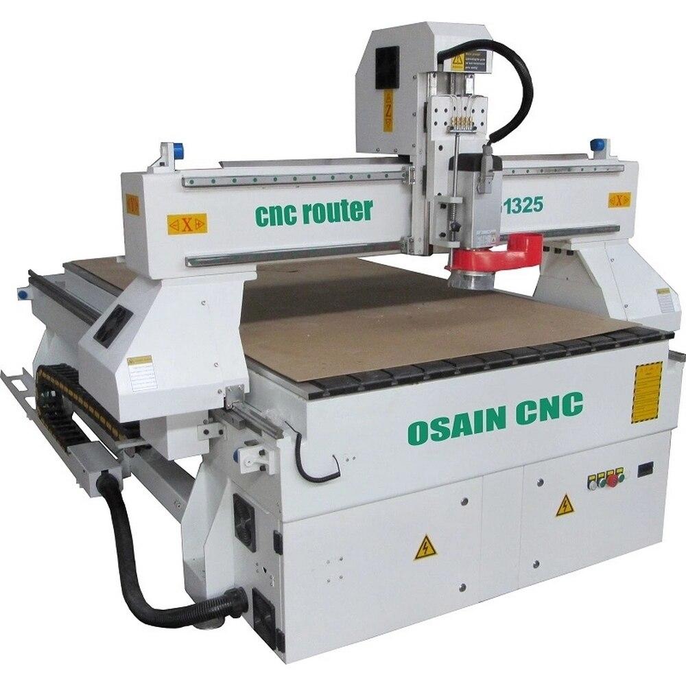 1325 CNC routeur machine à bois bois machines 3d 3 axes gravure outils de fraisage chine fournisseurs pas cher prix