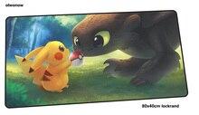 Pokemons коврик для игровой мыши Рождественские подарки 800x400x4 мм коврик для игровой мыши xl ноутбук аксессуары ноутбук padmouse эргономичный коврик