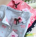 2016 New Spring Autumn Hot Sale Sweet Long Sleeve Girls Sweaters Coat Girl 4 Colors