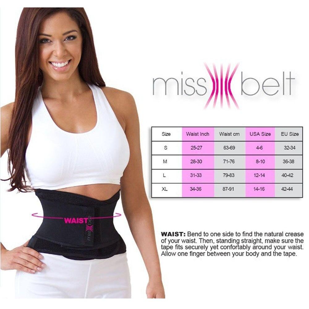 Miss Belt Slimming Shaper For An Hourglass Shaper Waist Cincher corest Waist trainer пояс мисс белт