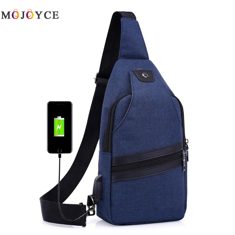 New Men Crossbody Bag Canvas Shoulder Bag Small Males Messenger Bag Famous Brand Casual Travel Chest Bag
