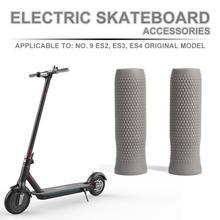 Bike Moto Scooter Handlebar Grip Short Lock Bar Cover Handle Tube Foldable Skateboard