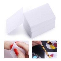 600 pcs Lint-Livraison Coloré Nail Gel Polish Remover Coton Essuyer Nail Art Conseils Nail Propre Tapis de Papier