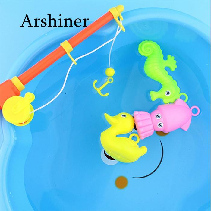 3 Years Children Old As Fishing Educational Toy  Game Fish Bath Toy New