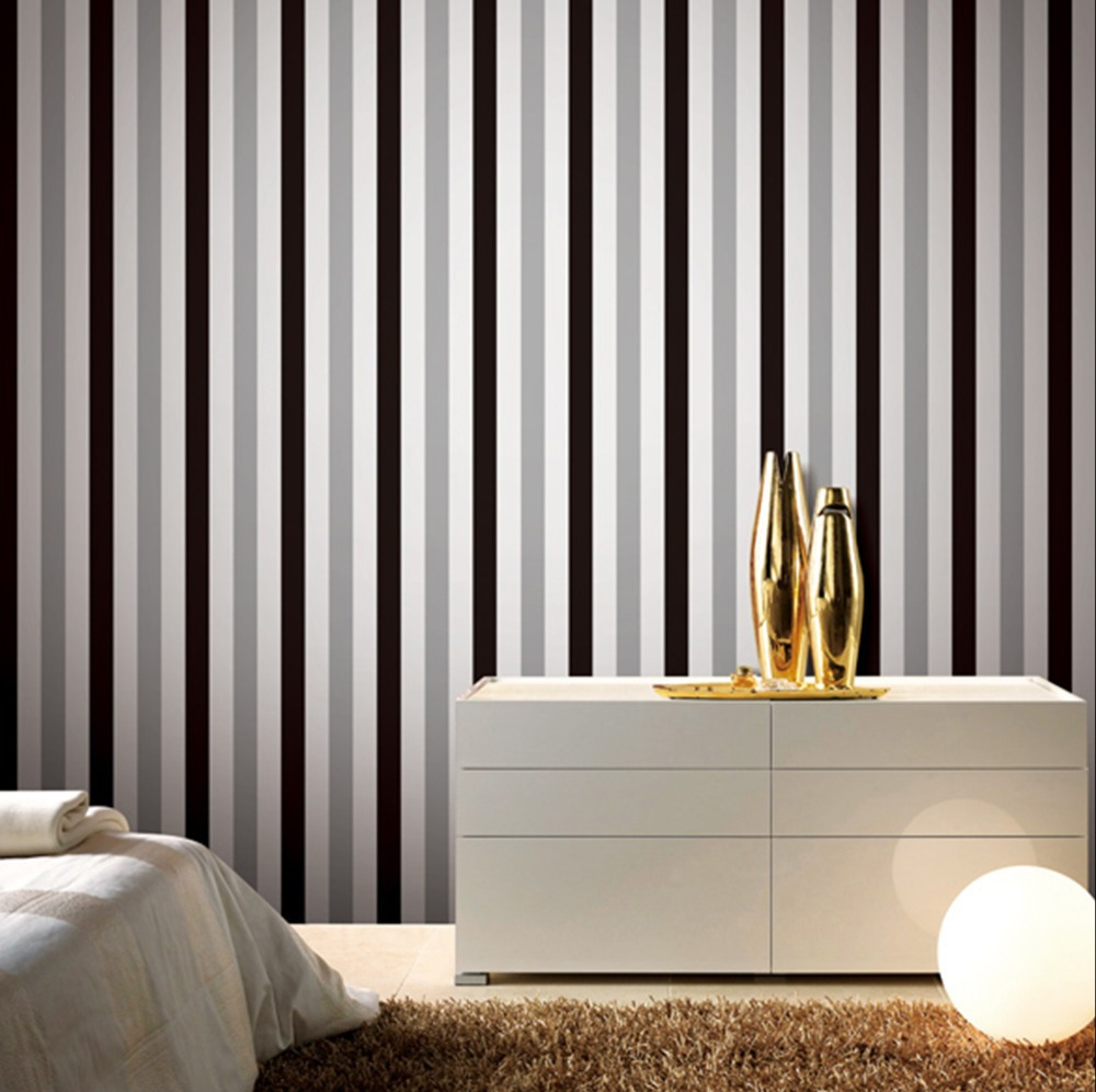 Wallpaper Design For Walls papier peintmodern bamboo wallpaperbamboo design wall paper for living room3d Contact Paper Carousel Vertical Stripe Mural Wallpaper For Living Room Modern Wallpaper Roll For Background Wall