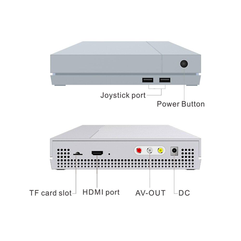 Retro Mini HD 4GB SEGA Video Game Console Built In 800 Classic Games 64BIT 4K For PS1/GBA/FC Maximum To 32 GB Retro Game Console