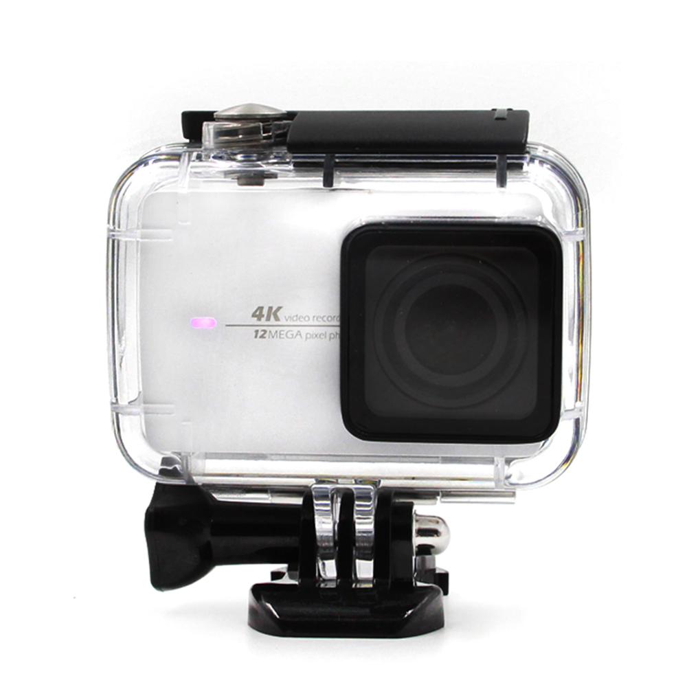 Telesin Underwater 30m Protective Waterproof Housing Case Shell Xiaomi Yi Ii 4k Action Camera For Version 2
