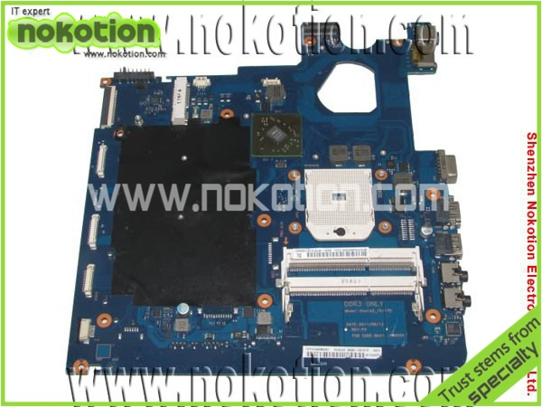 Laptop Motherboard for Samsung NP-305E4A 305E5A 305E7A BA92-08197A BA92-08197B AMD DDR3 Mainboard free shipping ba92 05127a ba92 05127b laptop motherboard for samsung np r60 r60 ddr2 intel ati rs600me mainboard