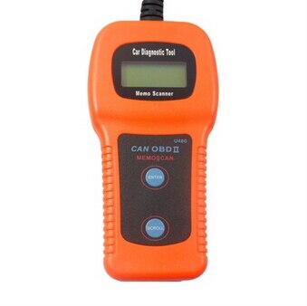 Prix pour U480 OBD2 CAN BUS/Moteur Code Lecteur memoscan U480 code lecteur U480 OBD2 OBDII Voiture ou Camion AUTO Diagnostic Moteur Scanner