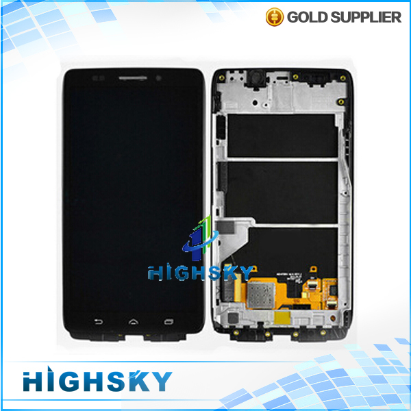 ФОТО Black 1 piece free hongkong post shipping + frame for Motorola Droid Ultra XT1080 lcd with touch digitizer screen display
