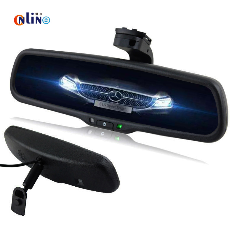 Clear View Special Bracket Car Electronic Auto Dimming Interior Rearview Mirror For Mitsubishi Lancer Outlander 2008
