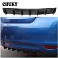 CHUKY Автомобильный задний бампер шасси плавник акулы 7 крыльев дефлектор модифицированный спойлер для Fiat 500 Punto Chevrolet Cruze Aveo Peugeot 206