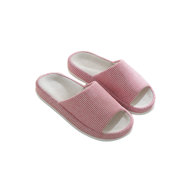 c8307c0ab Home Linen Women Slippers Solid Color Anti Slip No Noise Flip Flops Massage  Casual Woman Sandals Fashion Indoor Outdoor Shoes-in Slippers from Shoes on  ...