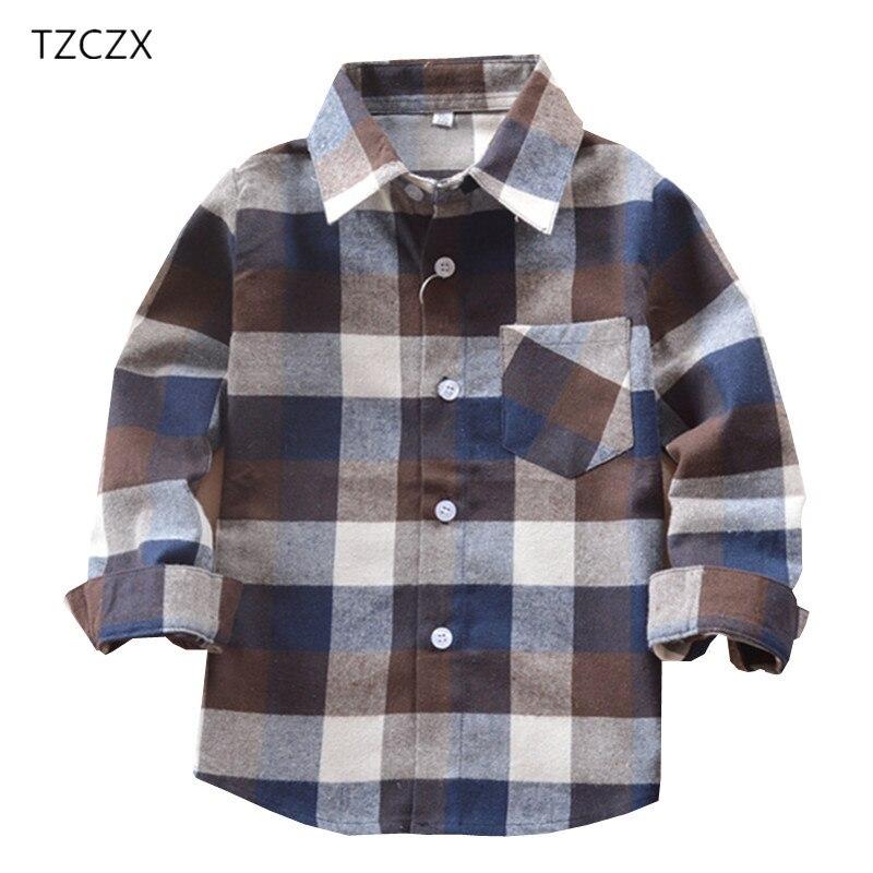 Promoción de venta caliente niños Camisas Casual clásico de franela a cuadros niños camisas para 3-11 años los niños niño