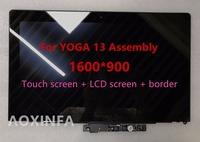 Free Shipping Original New LCD Assembly For Lenovo IdeaPad Yoga 13 LP133WD2 SL B1 LP133WD2 SLB1
