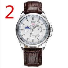 Relógio de quartzo dos homens de negócios, incorporado no calendário à prova d' água, de excelente qualidade
