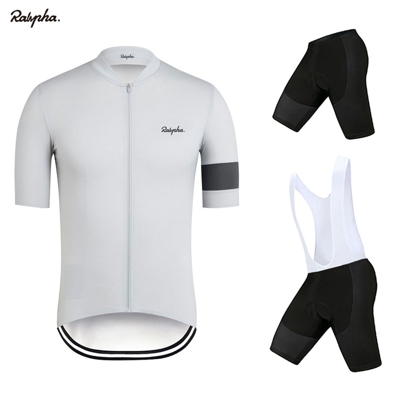 Dark Gray Gradient Riding Suit Short Sleeve Summer Mens Cycling Jersey with Pockets Breathable Breathable Quick-Dry Suitable for MTB Road Bike,M