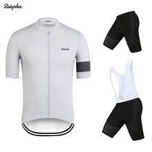 Raphaing Pro Cycling Jersey Sets Summer Short Sleeve Cycling Clothing Riding Sports Breathable Bib Shorts Bike Clothes Wear MTB недорго, оригинальная цена