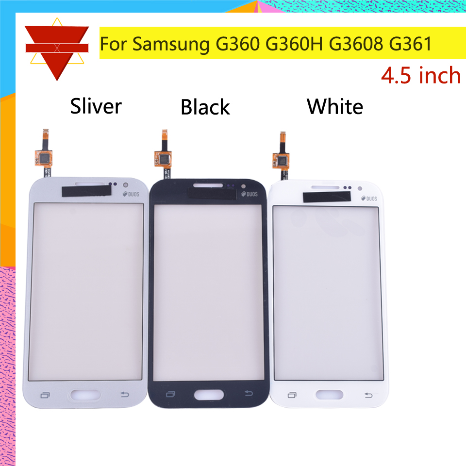4 5 For Samsung Galaxy DUOS Core Prime G360 G360H G3608 G361 G361H G361F Touch Screen