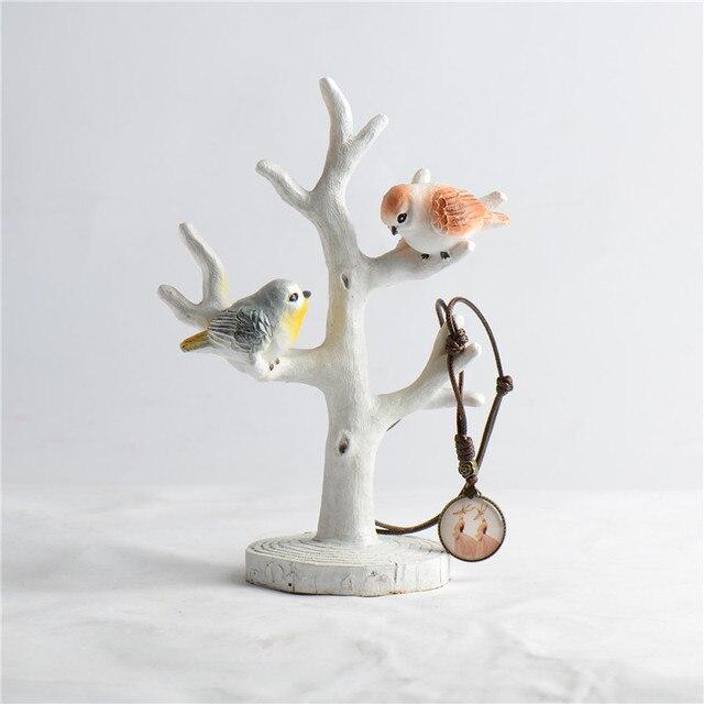 Ретро; Сельский Style Смола Симпатичные Bird украшения дома украшения подарки домашнего декора рабочего художественных промыслов фигурка