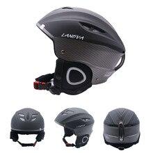LANOVA brand professional ski helmet adult ski helmet man skating / skateboard helmet multicolor snow sports helmets