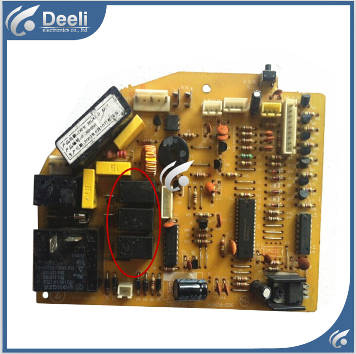 95% new good working for air conditioner motherboard ZKFR-36GW/E J1FDCPZ224-F pc board 95% new good working for air conditioner motherboard pc board plate zkfr 72lw 17c1 on slae