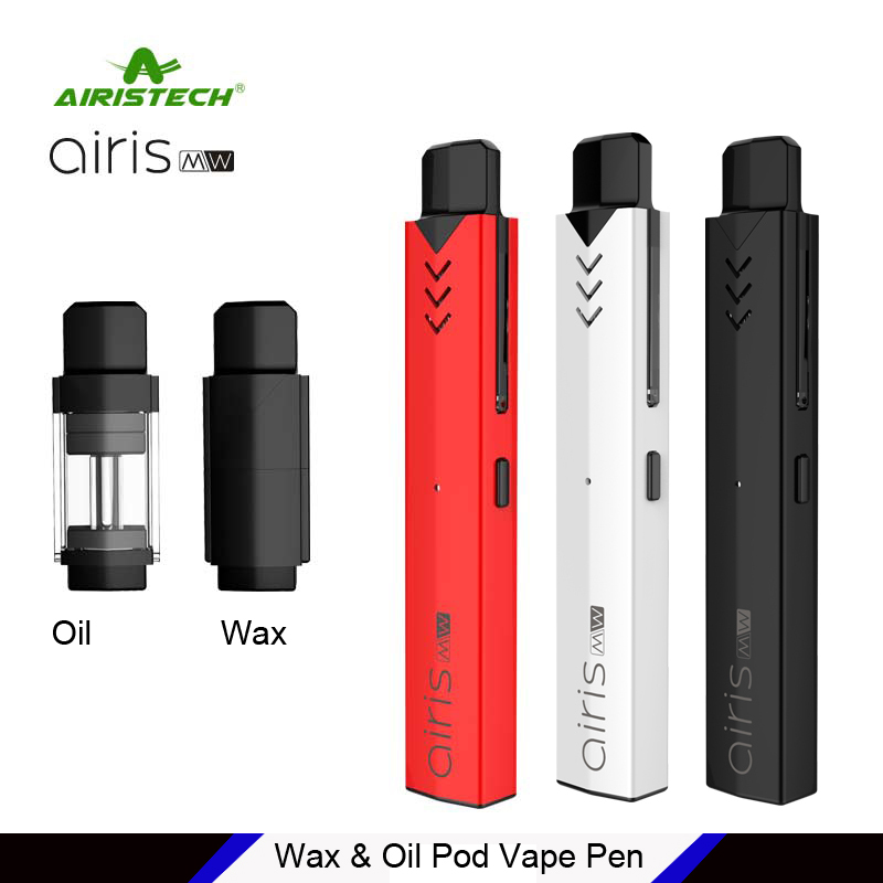 2018 Airistech Airis MW 2 in 1 Wax & Oil Vape Pen 350mAh Battery