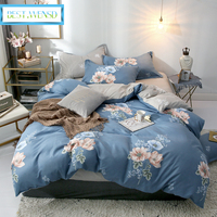 BEST.WENSD Spring,Summer,Autumn,Winter comforter bedding sets 3/4pcs king size bedding set flat bed cover,bed sheet ropa de cama