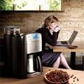 Новая бытовая американская Кофеварка Умная автоматическая кофемашина для домашнего офиса 1-10 чашек