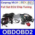 2016 New Carprog V9.31 Full Set ECU Chip Tuning for Car Radios Odometers Dashboards Immobilizers Auto Repair Airbag Reset