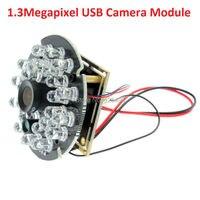 Alta qualidade 960 P HD cmos AR0130 30pfs MJPEG Infrared night vision ir placa da câmera do usb driver webcam livre