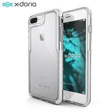 X Doria تأثير برو حقيبة لهاتف أي فون 7 8 Plus غطاء إطار هاتف محمول آيفون 7 8 Plus ثبت علميا غطاء حماية من السقوط حقيبة
