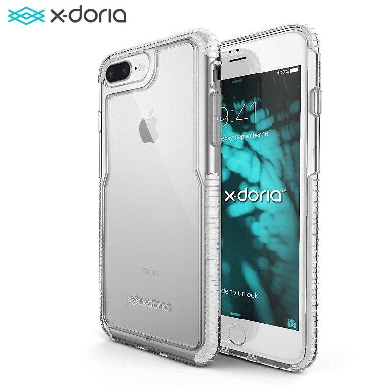 imágenes para X-doria Impacto Pro Funda de Protección para el iphone 7 Plus/iPhone 7 Plus Cubierta Del Teléfono Coque con PolyOne Científicamente Probados envío de la gota