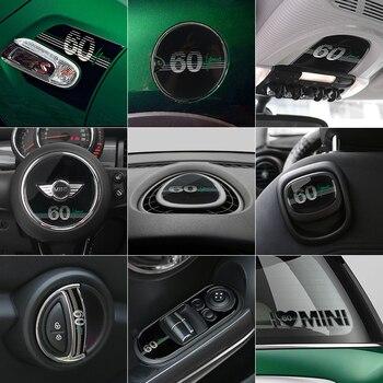 MINI Cooper en venta. F56 toda interior de fibra de carbono de La etiqueta engomada etiqueta cubierta de ventilación consola Panel Housing Accesorios