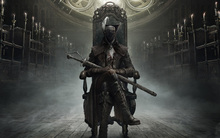 Bloodborne Art Silk Fabric Poster Print  Game Hunter Picture for Living Room Wall Decoration Stickers 50X81Cm