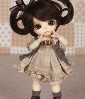 Солнечный Кукла BB BJD куклы 1/8 шаровой шарнир куклы смола в том числе глаза