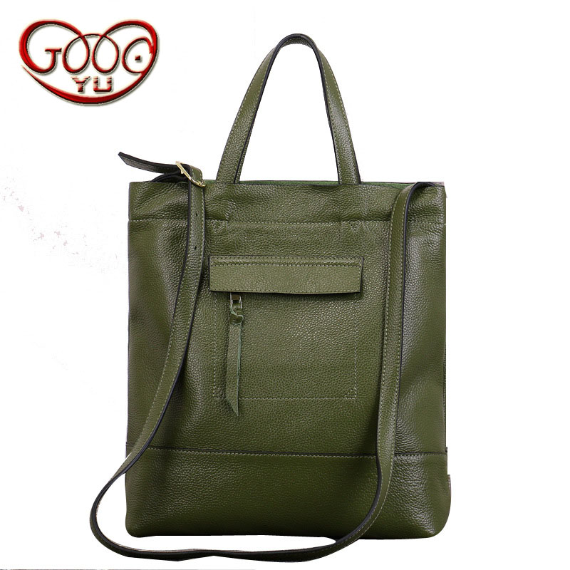 Ms. Europe and the first layer of leather handbag Tote bag Ms. square large-capacity and fashionable shoulder bag female bag europe and the first layer of leather woven bag bag leather making small bag 2018 new single shoulder bag lady