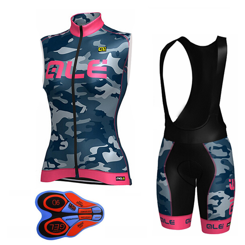 Women ALE Cycling Jersey MTB Bike Clothing Maillot Cycling Clothing Racing Clothing Cycling Clothing Sleeveless