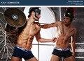 Free shipping!brand XUBA men's Sparta series solid underwear men's sexy pants modal low waist men's gay underwear men's boxers