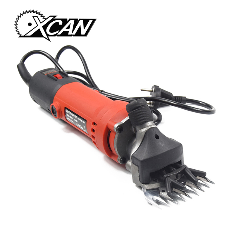 XCAN 380W Electric Sheep Shears Machine Shearing Machine For Wool  Adjustable Speed Electric shearing Machine new 680w sheep wool clipper electric sheep goats shearing clipper shears 1 set 13 straight tooth blade comb