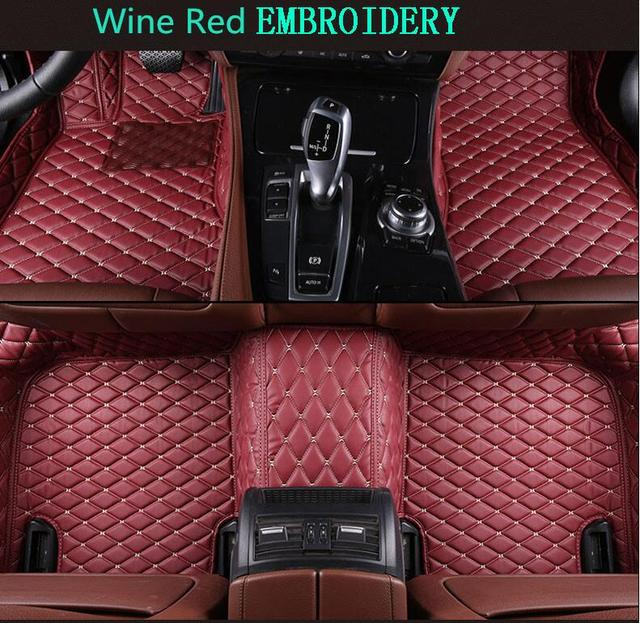 3d Luxury Slush Floor Mats Foot Pad Mat For Audi A6 A6l C7