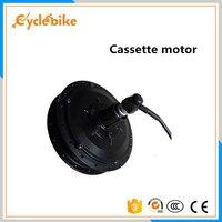 Free shipping BPM cassette 48v 500w ebike hub motor geared design 500w bpm