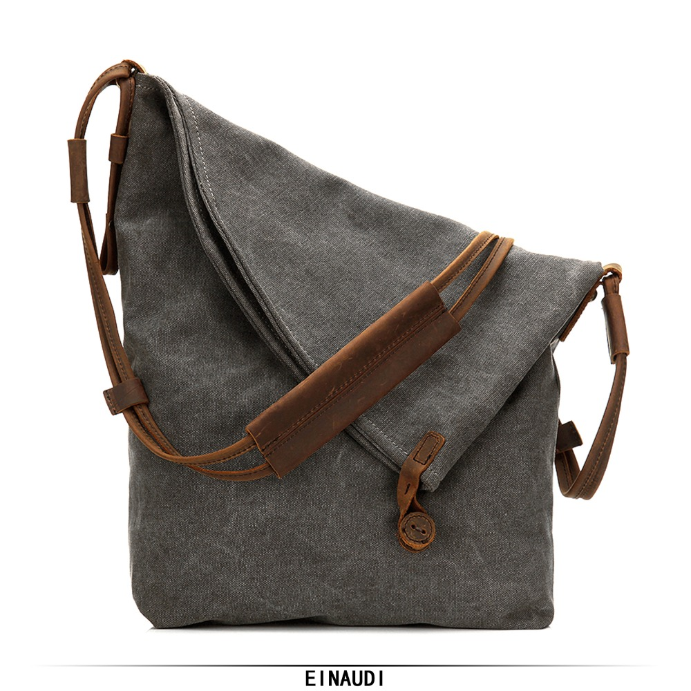 купить Canvas Messenger Bags Vintage Shoulder Bag Unisex Casual Travel school Bags 2018 Multifunction Brand Man Female Shopping Bag New по цене 4075.09 рублей
