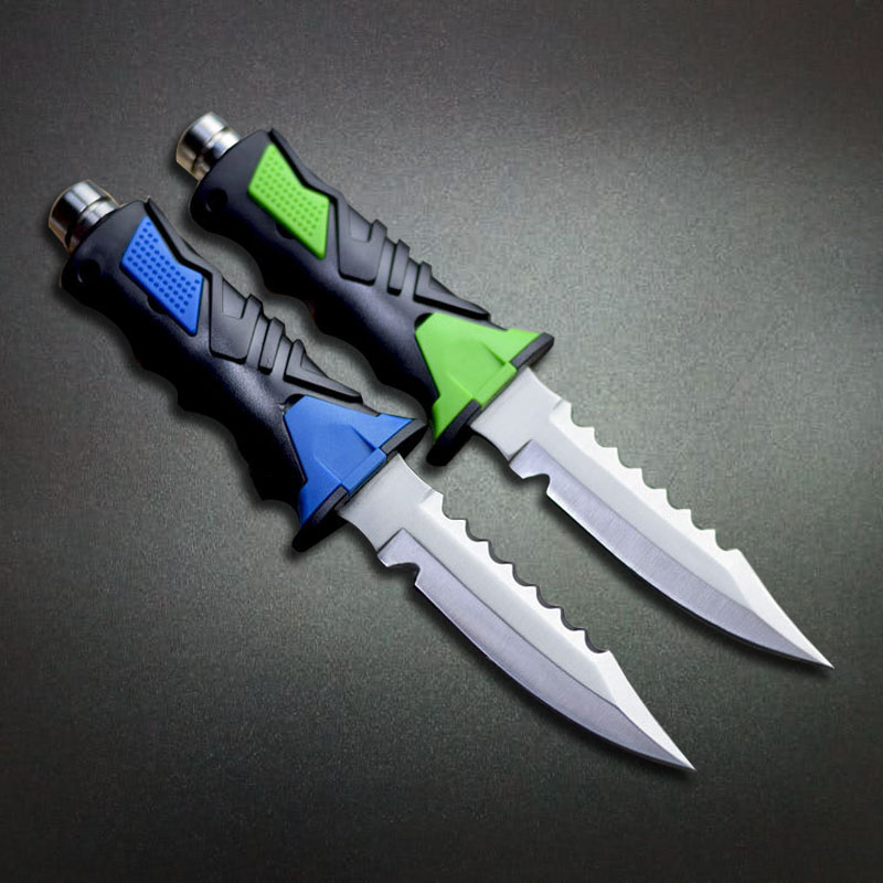 Mengoing Deep-sea Diving Knife 440C Stainless Steel Fixed Blade Knives ABS Plastice Handle Fishing Knives With Sheath 4 Types digital playground stoya s deep sea adventures rabbit