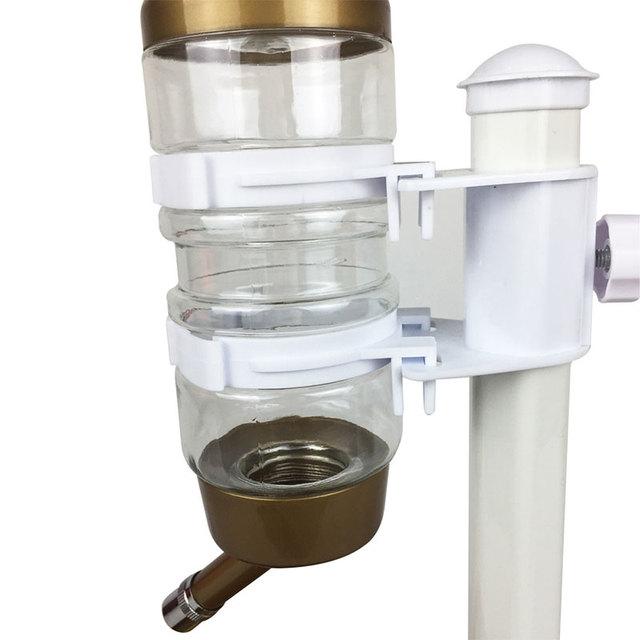 Automatic Pet Cat Dog Water Drinker Dispenser Food Stand Hamster Feeder Dish Bowl Bottle Pet Feeder 4