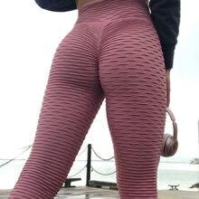 f05977600e56a Women Pink High Waist Fitness Breathable Leggings Fashion 2019 Female Push  Up Black Spandex Pants Workout Leggings Plus Size
