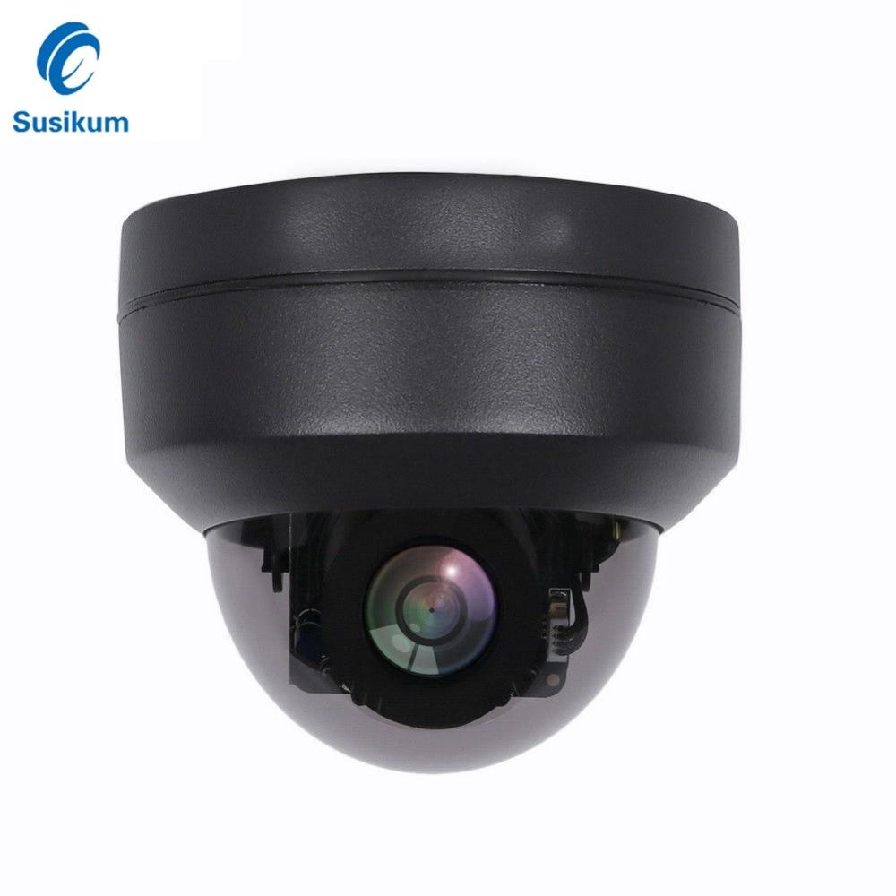 2MP 4MP 2.8 12mm Lens PTZ IP Camera Outdoor Waterproof Pan/Tilt 4X Zoom IR 20M Night Vision ONVIF MINI Dome POE Camera