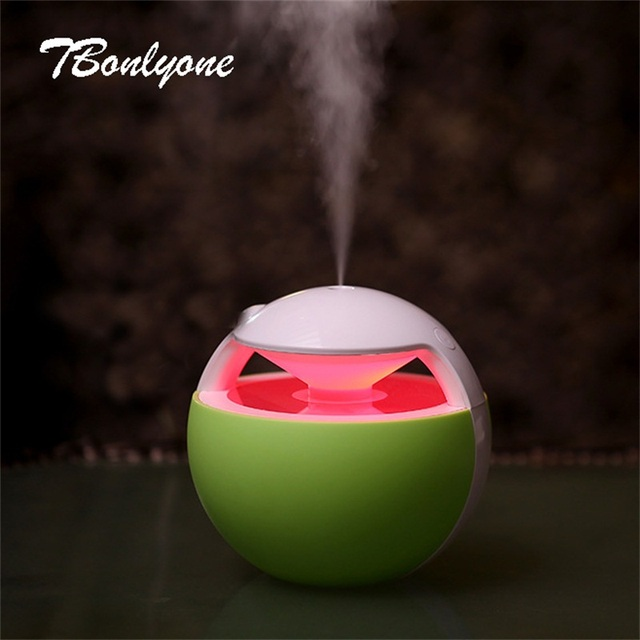 TBonlyone 450ML Mini Ball Humidifier For Baby Home Office Essential Oil Diffuser Air Aroma Diffuser Ultrasonic Air Humidifier 4