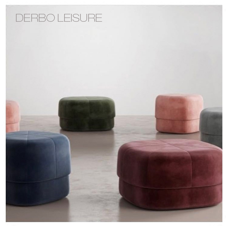 No Rooms Colorful Furniture: Modern Fashion Design Upholstered Soft Cover Soft Color